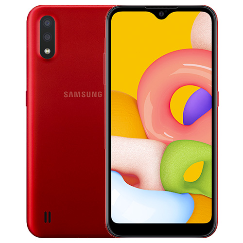 samsung A01 rouge
