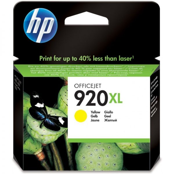 hp 920xl jaune cd974ae